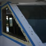 Hatteras 58' Yacht Fisherman Pilot House Window