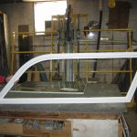 Bertram 31' Side Window