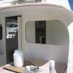 Bertram 31' Bulkhead Window
