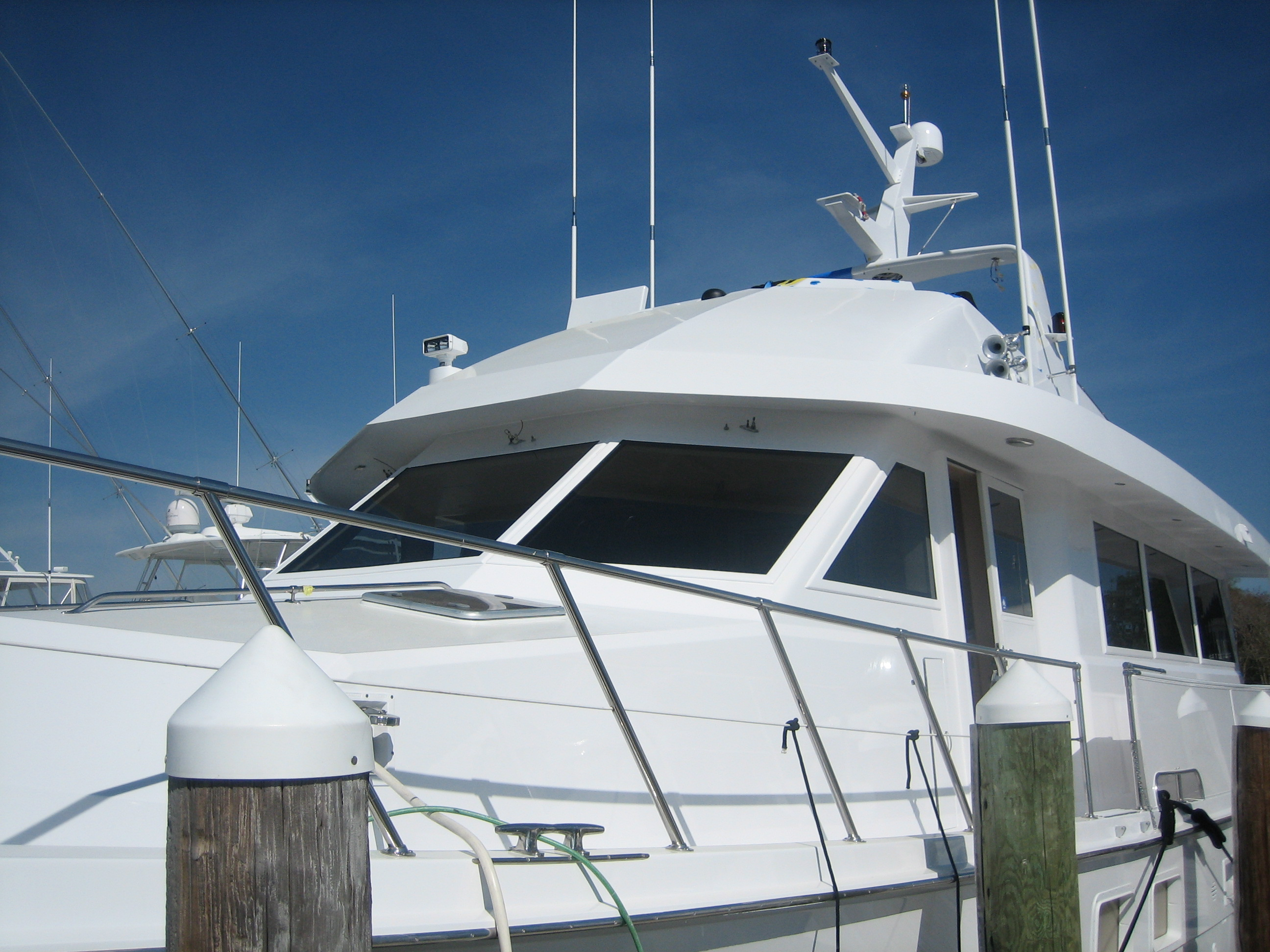 Lookout Boat Window Frames | A solid solution to a leaky ...