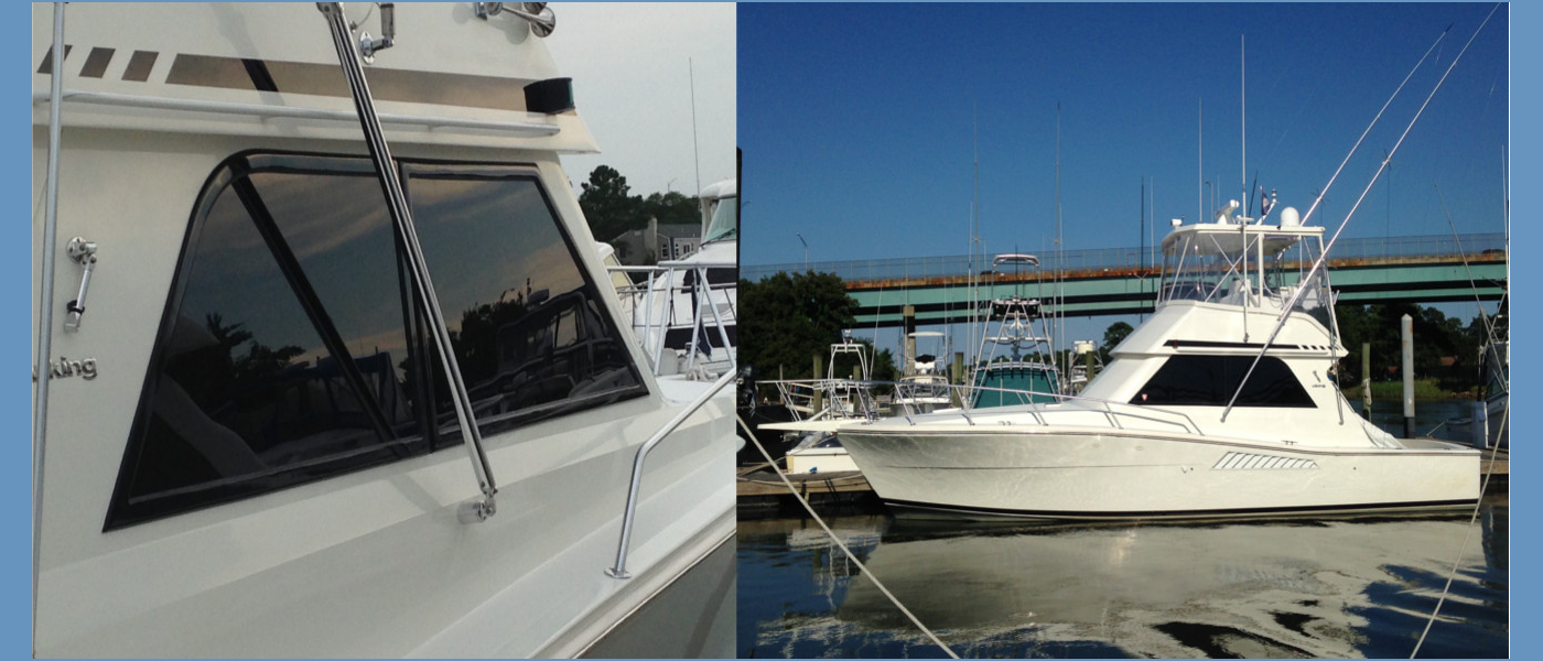 Lookout Boat Window Frames   A solid solution to a leaky problem.